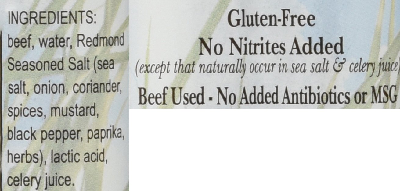 Nick's Sticks 100% Grass-Fed Beef Snack Sticks - Gluten Free - Paleo, Keto, Whole30 Approved - No Sugar, Soy, Antibiotics or Hormones (25 - 1.7oz. Packages of 2 Sticks) by Nick's Sticks (Image #3)