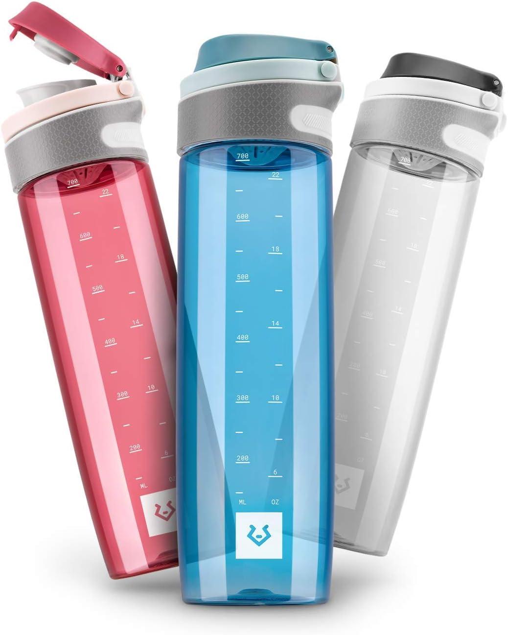 Alphatrail Botella Agua Tritan Jay 750ml I 100% Prueba de Fugas I sin BPA & Ecológicamente I Seguro Lavavajillas I para una hidratación óptima en la Vida Diaria
