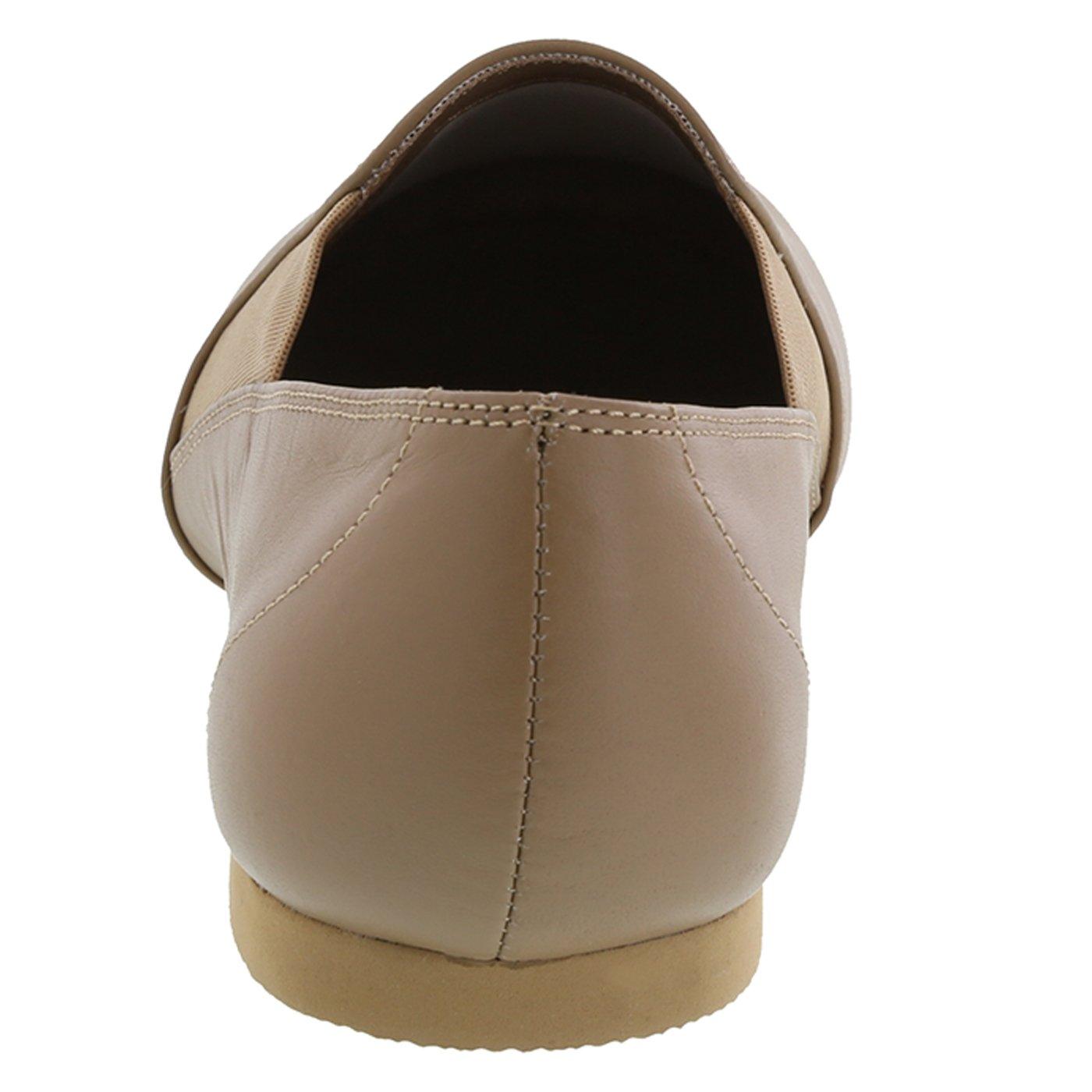 American Ballet Theatre for Spotlights Girls Tan Girls Twin Gore Jazz Shoe 1.5 Regular