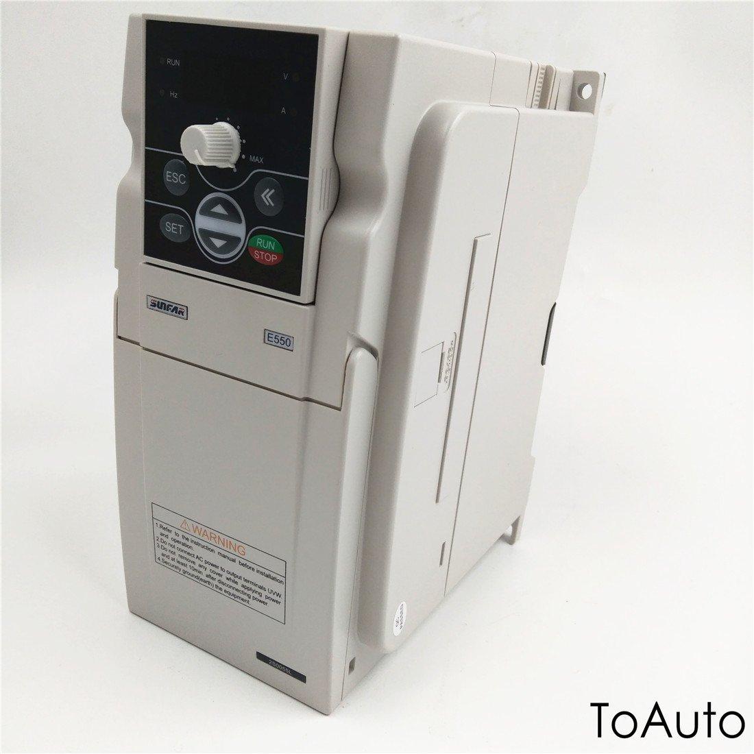 Inverter VFD 5.5KW Spindle Motor Speed Controller 1 phase 220V 24A 1000Hz for CNC Lathe Engraving Milling