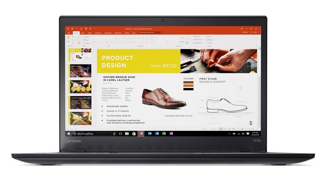 "Amazon.com: Lenovo T470s Business Laptop - 20JS0015US (14"" FHD, Intel Core  i5-6300U 2.4GHz, 8GB DDR4, 256GB SSD, Fingerprint Reader, Backlit Keyboard,  ..."