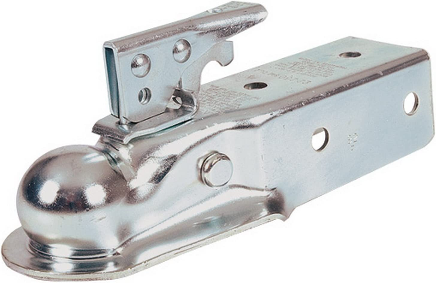 "3/"" Channel x 2/"" Ball Straight Tongue Trailer Coupler #22-300"