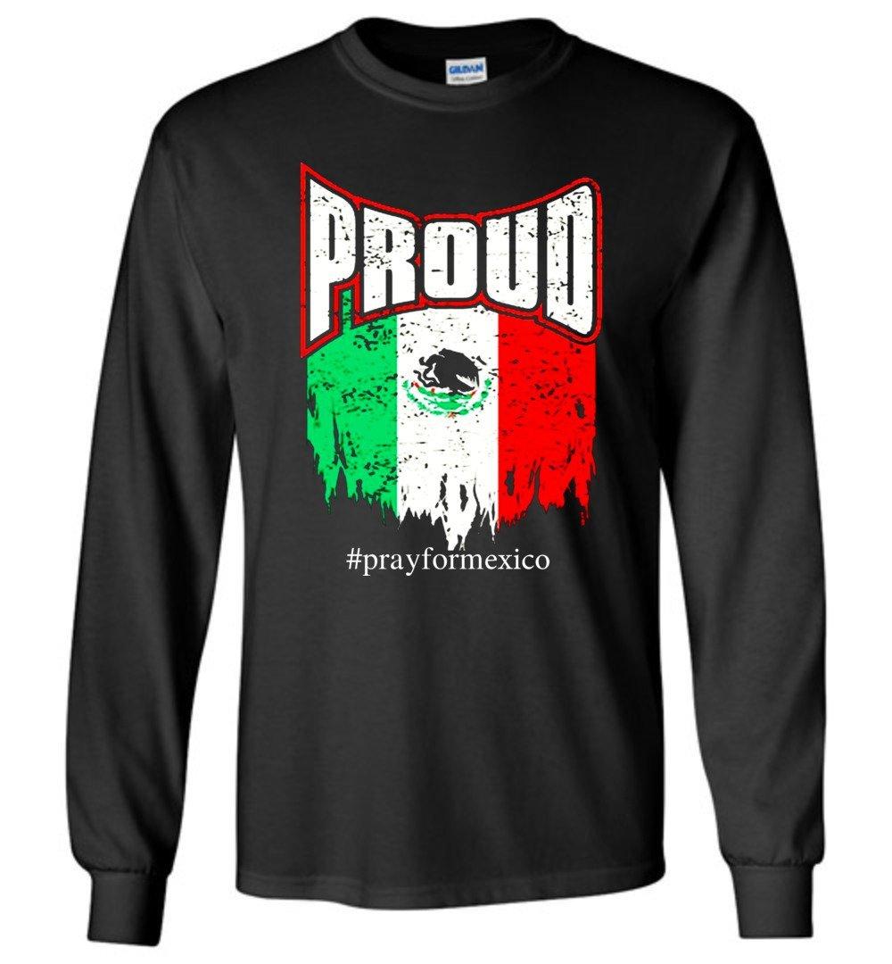 Pray For Mexico Proud Flag Tshirt Vb