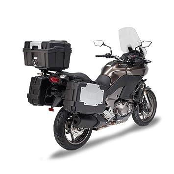 Kappa - Portavaligie Lateral de extracción rápida para Maletas monokey klr4105 Kawasaki versys 1000 ()