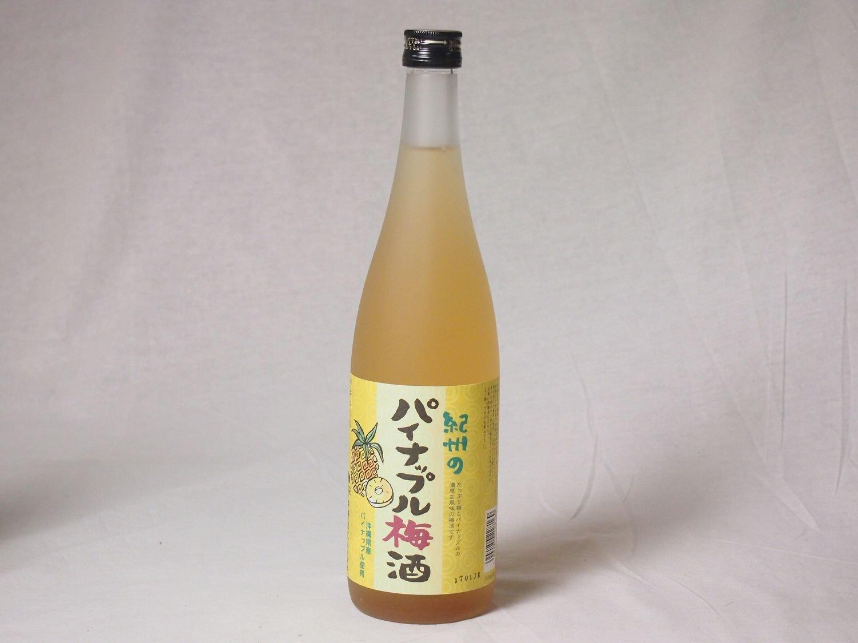 紀州パイナップル梅酒720ml×6本 B077Z3ZRV4