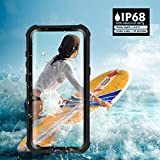 Galaxy S8 Waterproof Case, Besinpo Underwater 6.6ft 30 minutes Full Body cases, military grade protective cover with kickstand for Samsung Galaxy S8 Only(5.8inch,Black)