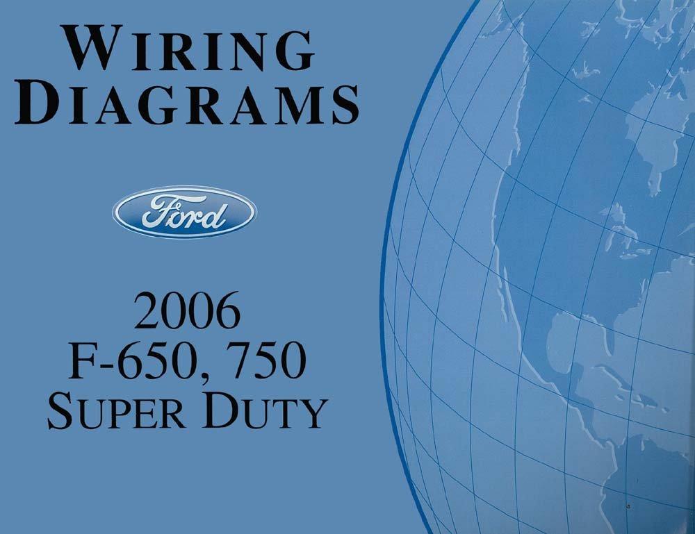 Amazon Bishko Automotive Literature 2006 Ford F650f750 Super Rhamazon: Ford F750 2006 Wiring Diagram At Cicentre.net