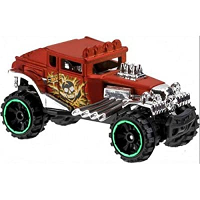 Hot Wheels 2020 HW Daredevils Baja Bone Shaker 91/365, Copper: Toys & Games