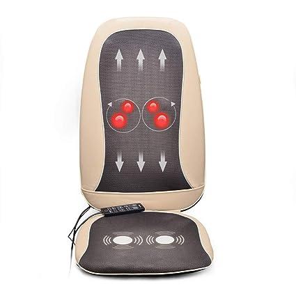 Silla de masaje, espalda, cojín, masajeador, masaje en casa ...