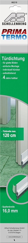 Schellenberg 66219 Joint à balais de porte Transparent 120cm