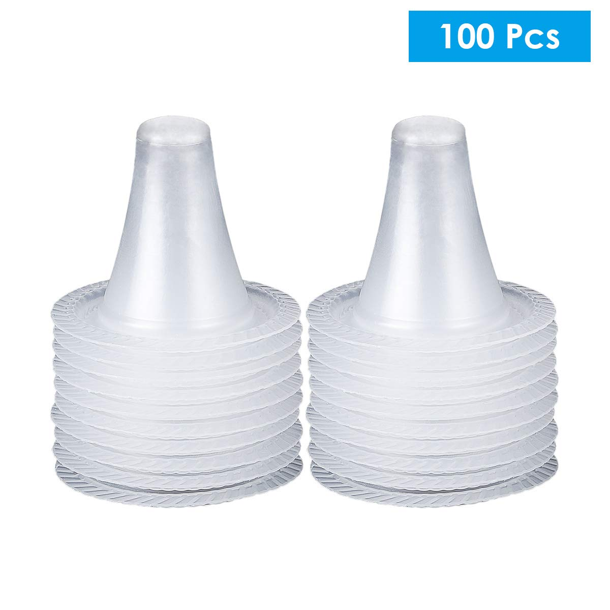 puseky 40pcs Ear Thermometer Probe Covers Lens Filters for Braun ...