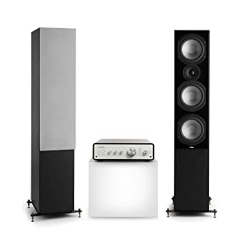 NUMAN Drive 801 Stereo Set, 2 Altavoces de pie y Amplificador ...