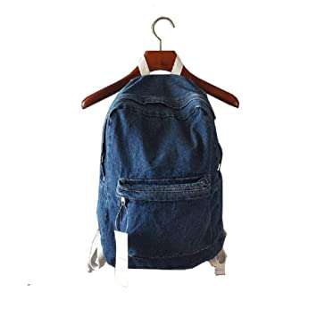 Urmiss(TM) College School Bags Denim Backpacks Cute Bookbags ...