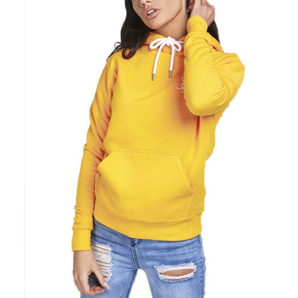 Sik Silk Drop Shoulder Sudadera Capucha Mujer Amarillo