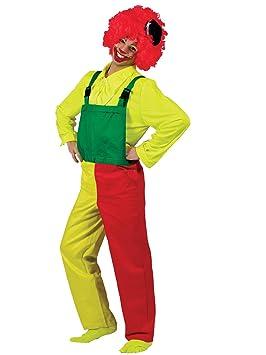 Funny Fashion Disfraz Payaso Adulto: Amazon.es: Juguetes y juegos
