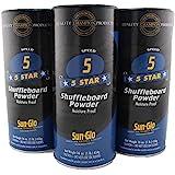 3 Pack - Sun-Glo #5 Speed Shuffleboard Powder Wax