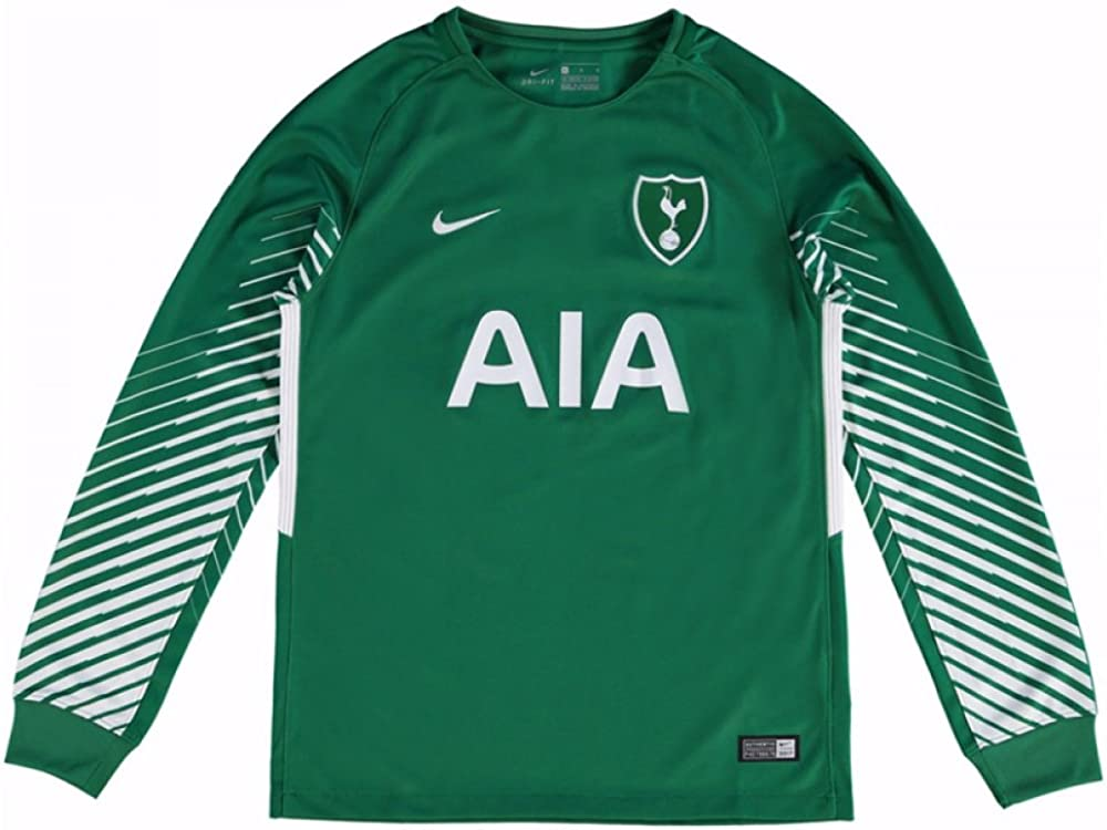 Nike 2017 2018 Tottenham Away Goalkeeper Shirt Green Kids Amazon Co Uk Clothing