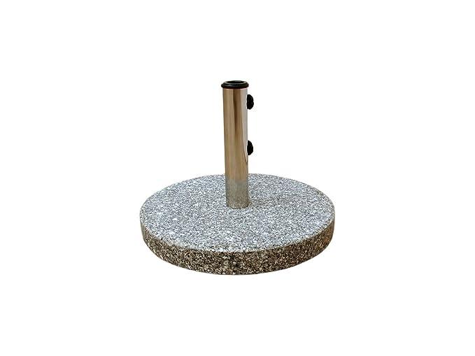 RoyalCraft 30 kg base para sombrilla granito redonda: Amazon.es: Jardín