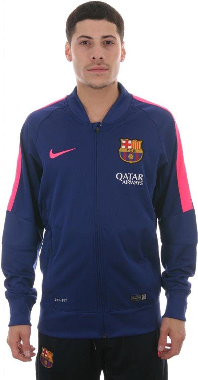 Nike FC Barcelona Squad Sideline Knit Jacke Herren