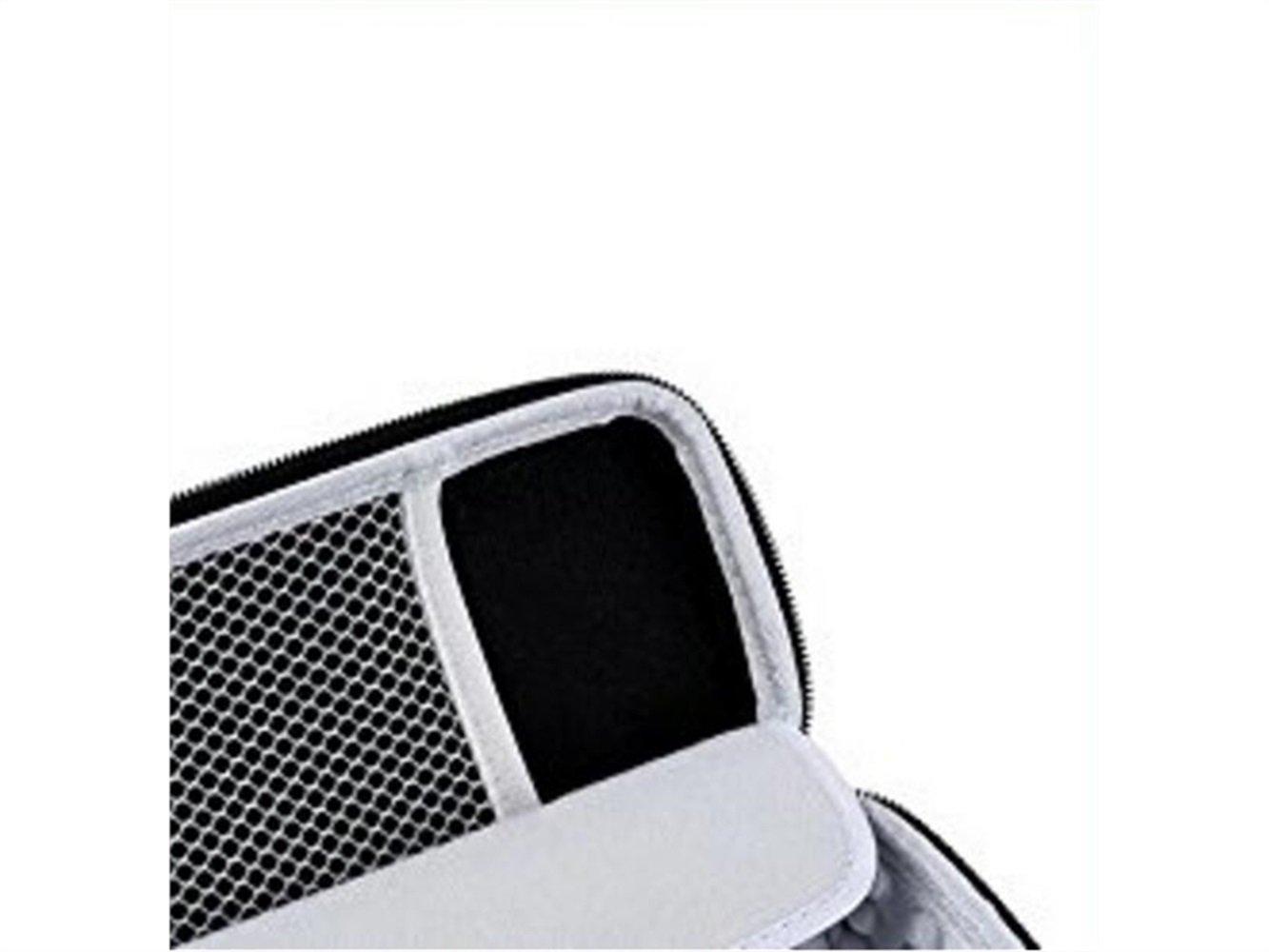 noir Accueil /Étui de rangement pour haut-parleur sans fil Blueetooth sans fil semi-rigide pour la vie quotidienne