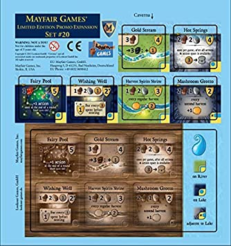 Amazon.com: Caverna Water Tile Expansion by Caverna: Toys & Games