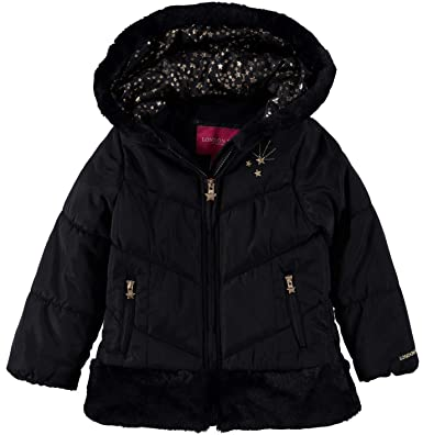 09d560843edd Amazon.com  London Fog Girls  Shine Warm Winter Jacket  Clothing
