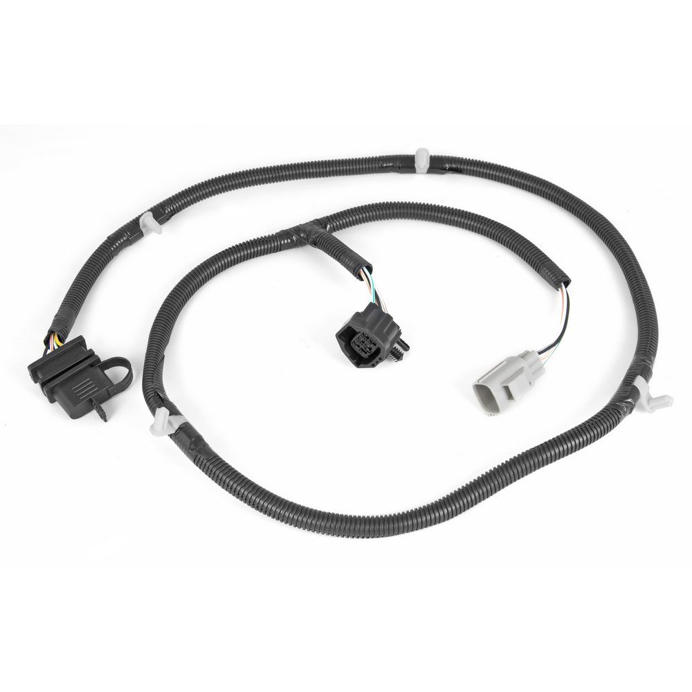 61qAxf5xbSL._SL1000_ amazon com rugged ridge 17275 01 4 way tow hitch wiring harness wiring harness for trailer hitch at alyssarenee.co