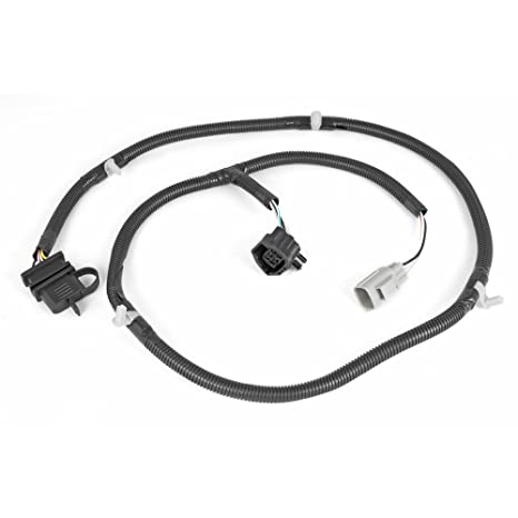 Rugged Ridge 17275.01 4-Way Tow Hitch Wiring Harness on