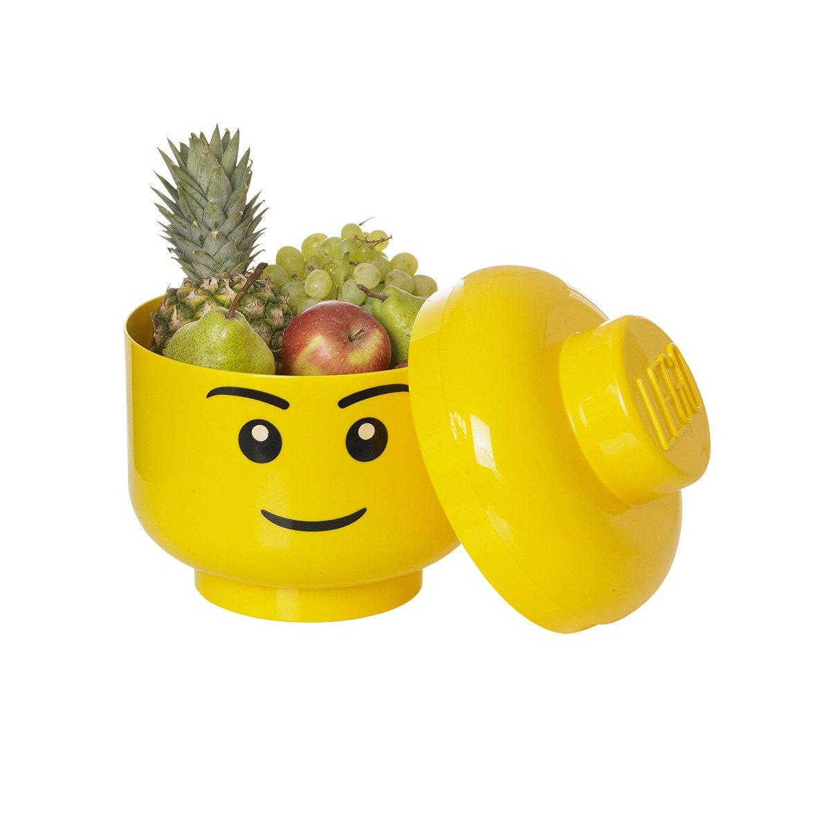 LEGO Storage Head Large Yellow Image 2
