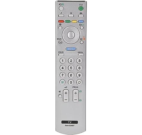 Topiky Reemplazo de Control Remoto Universal para Sony RM-ED007 / RM-ED011 / RM-ED011W / RM-ED033 / RM-YD028 / RM-YD026 / RM-ED012 / RM-ED013 / RM-ED014 / RM-YD005 / RM-681 / RM-838: Amazon.es: