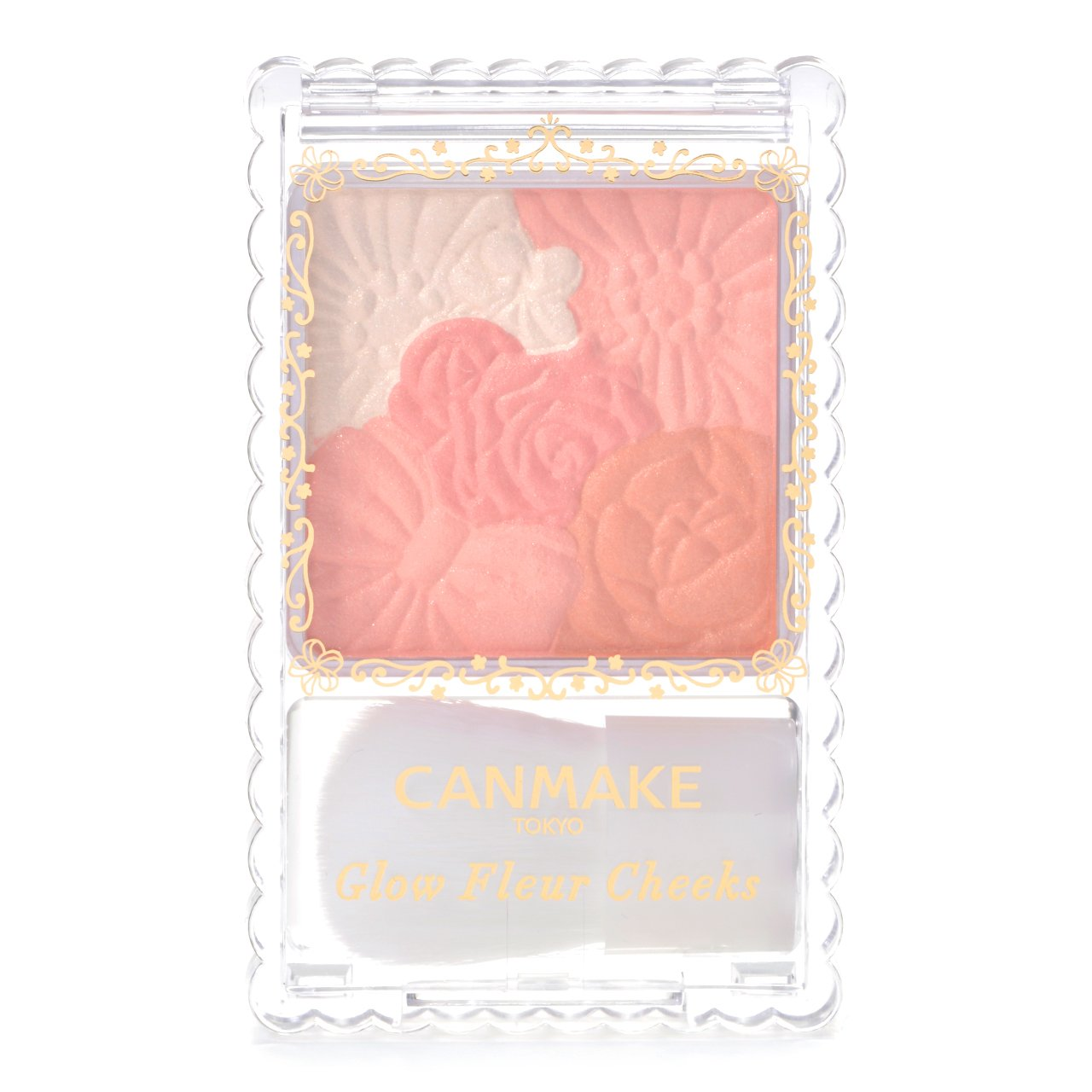 CANMAKE Glow Fleur CHeeks 03 Fairy Orange Fleur by CANMAKE 4901008307015