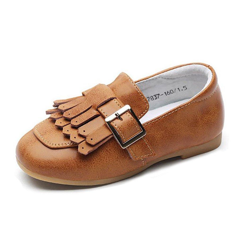Girl's Oxford Shoes Loafers Slip-On Loafer Walking Dress Princess Shoe(Toddler/Little Kid/Big Kid)
