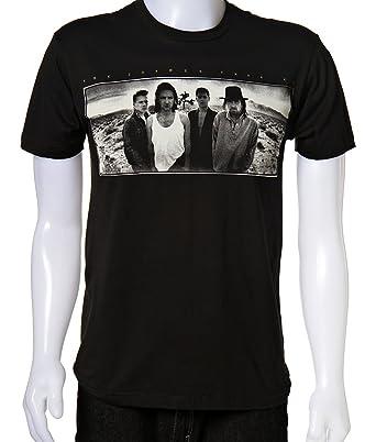 U2 - Camiseta - Hombre de color Negro de talla X-Large Uomo Joshua Tree