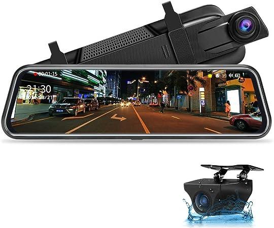 Jansite Spiegel Dashcam 10 Touch Screen Full Hd Elektronik