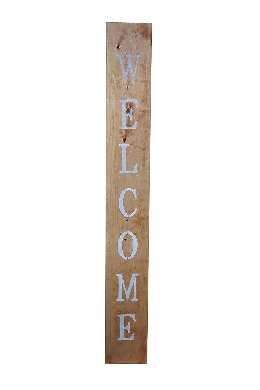 AA Plus Shop - Cartel de Bienvenida de Madera para el Porche ...