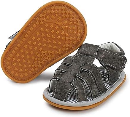 Baby Girls Sandals Rubber Sole Non-Slip Summer Outdoor Toddler Girl Sandals Flat Shoes Infant Cute Little Kids First Walker Shoes