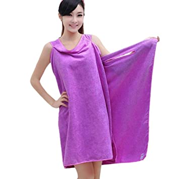 bb4a168790 Dhruheer Microfiber Women Ladies Girls Sexy Bath Towel Wearable Beach Towel  Soft Beach Wrap Skirt Super Absorbent Bath Gown (Multi Color)  Amazon.in   Home   ...