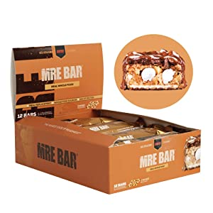 Redcon1 - MRE Bar - Meal Replacement Bar - Smores (1 Box / 12 Bars), Real Whole Food Sources, Protein Bar