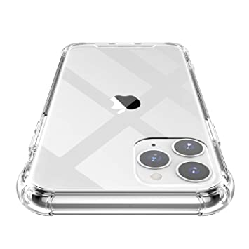 Shamos Funda para iPhone 11 Pro MAX, Transparente Carcasa ...