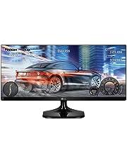 "LG 25UM58-P - Monitor Profesional UltraWide FHD de 63,5 cm (25"") con Panel IPS (2560 x 1080 píxeles, 21:9, 250 cd/m², sRGB >99%, 1000:1, 5 ms, 75 Hz) Color Negro"