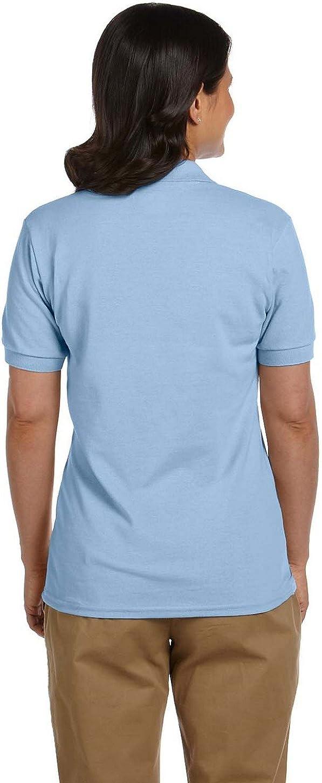 Gildan Dryblend Womens 6.5 Oz - Lt Blue,XXX-Large G948L Piqu/é Sport Shirt