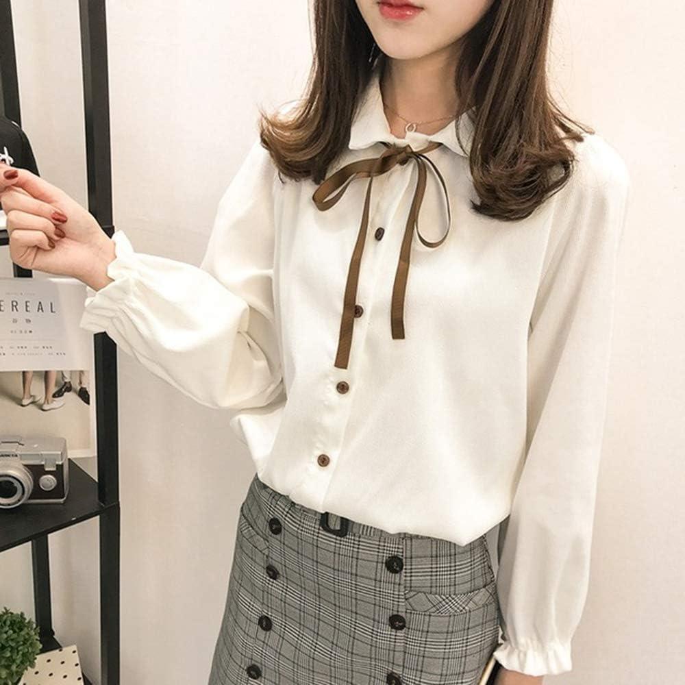 TNM Blusa de Mujer de Oficina Blusas de Primavera Moda Otoño ...