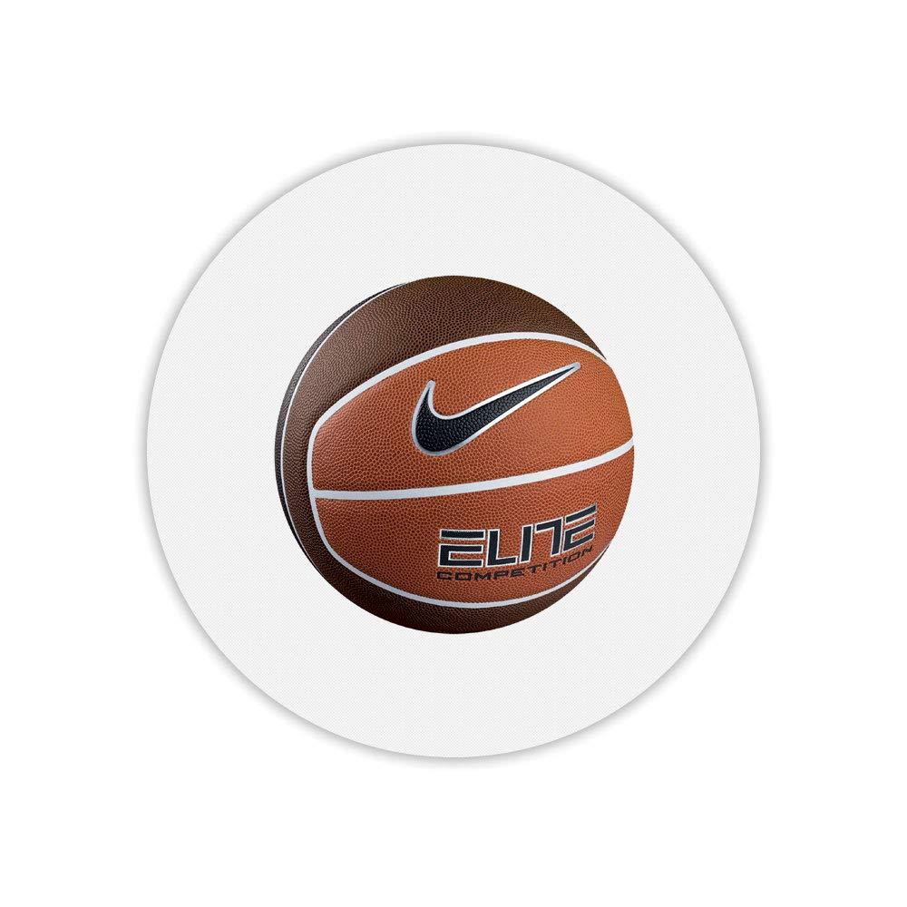 Alfombra de ratón Redondo Estampado balón Basket: Amazon.es ...