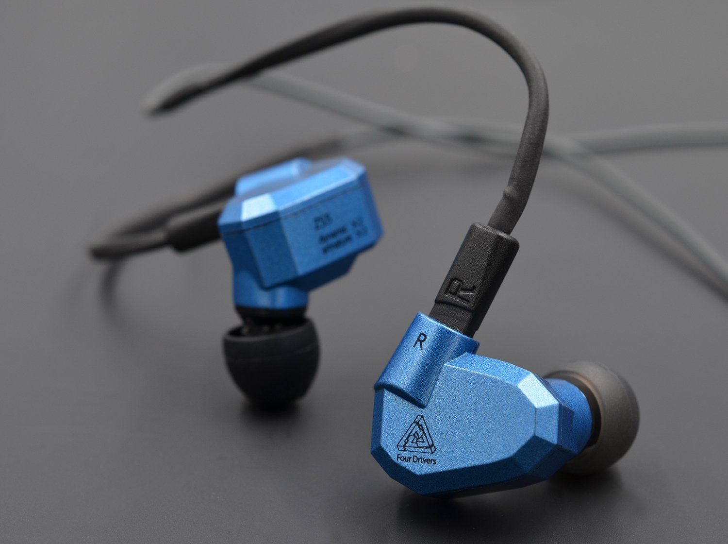 Kz Zs5 Dynamic Hybird Quad Driver High Fidelity In Ear Kabel Bluetooth Module Knowledge Zenith Zs3 Zs6 Zst Headphones With Microphone And Remoteblue Home Audio Theater