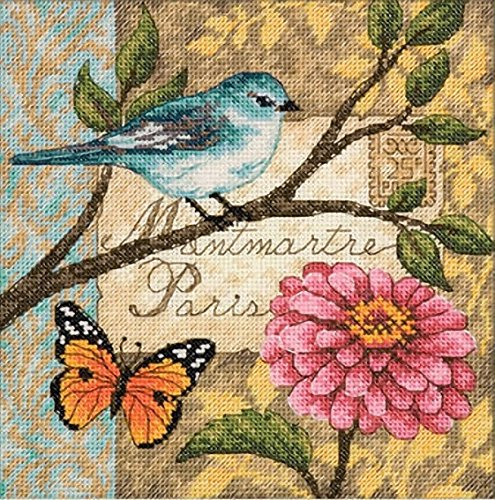 Garden Counted Cross Stitch - 6