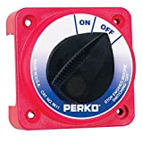 Perko Marine Boat 9611DP Compact Medium Duty Main Battery Disconnect Switch by Perko