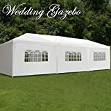BBBuy 10'x30' Outdoor Party Wedding Tent Canopy Camping Gazebo Storage BBQ Shelter Pavilion, 8 Removable Sidewalls (10x30)