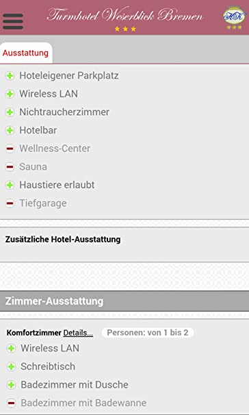 Amazon Com Turmhotel Weserblick Bremen Appstore For Android