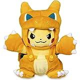 Peluche Pikachu con Traje de Charizard Cosplay Charizard Importado Pokemon Center Anime Pokemon excelente para Regalo de cump