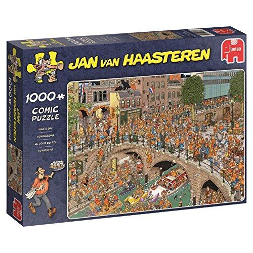 Jumbo Jan Van Haasteren King's Day Jigsaw Puzzle (1000 Piece)